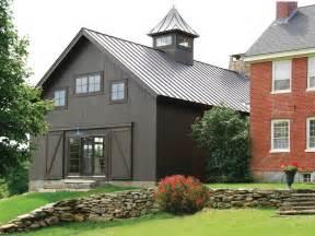 Metal barn homes exterior farmhouse with 18th century antique barn