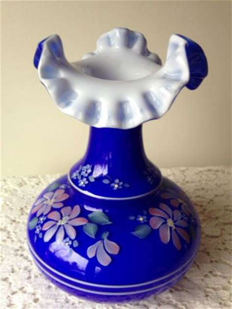 Fenton Painted Ls 1000 images about my fenton glass on cologne vase and chocolate roses