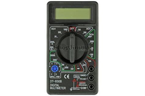Digital Multimeter Dt 830b Limited dt 830b pocket size digital multimeter