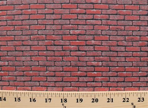 brick pattern fabric nz cotton landscape medley bricks red brick wall cotton