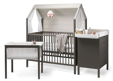futon nursery stokke home crib bed cribs furniture nursery