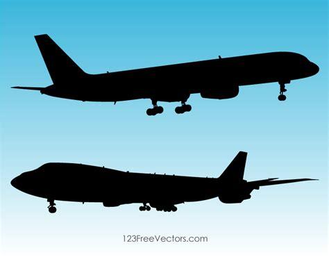 airplane silhouette clip silhouette plane clip 123freevectors