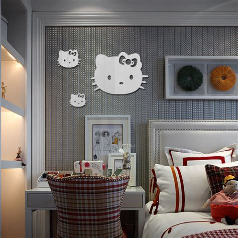 Sticker Cermin Sticker Lucu buy grosir hello bedroom decor from china