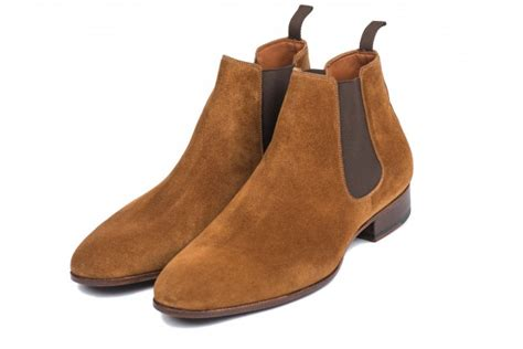 light suede chelsea boots suede chelsea boots for light brown made in
