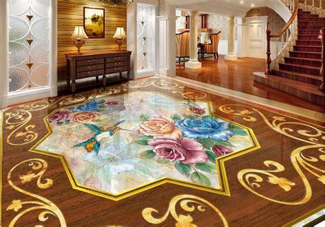 Custom Vinyl Flooring by Custom Vinyl Flooring Adhesives Wall Mural Roses