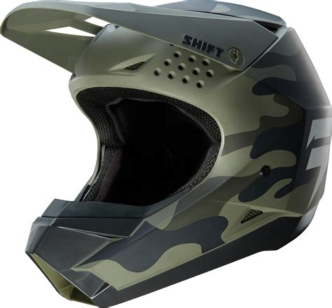 shift motocross helmets 2018 shift whit3 label helmet camo 2018 shift motocross
