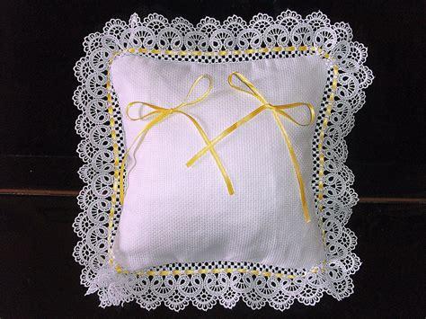 cuscino portafedi da ricamare cuscino fedi cuscinetto portafedi pizzo merletto