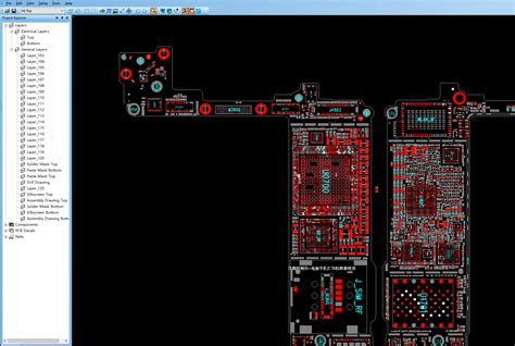 notebook layout view for ipad all iphone ipad schematic boardview and pads pcb layout