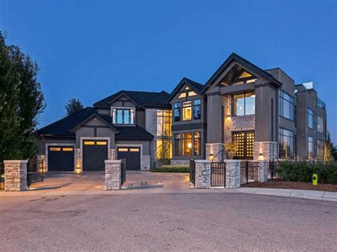 Calgary S Finest Luxury Homes Point2 Homes News Luxury Home Builder Calgary