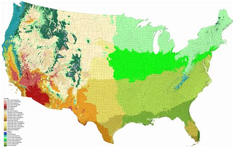usa climate zone map climate of the united states ecoclimax