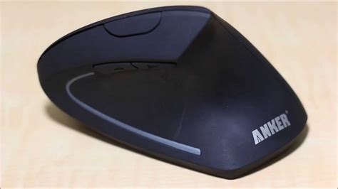 anker wireless mouse anker 2 4g wireless vertical ergonomic mouse review youtube