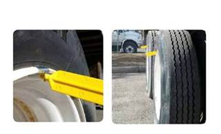 Trailer Tire Rotation Indicator Tire Anti Skid Stick Products Safety Work