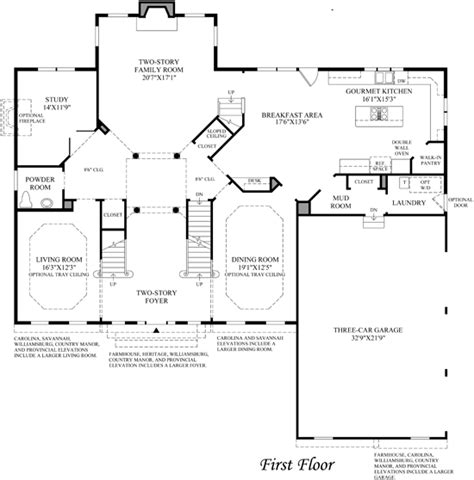 dominion homes floor plans view floor plans