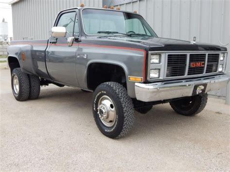 classic gmc classic dually 454 big block rust free classic