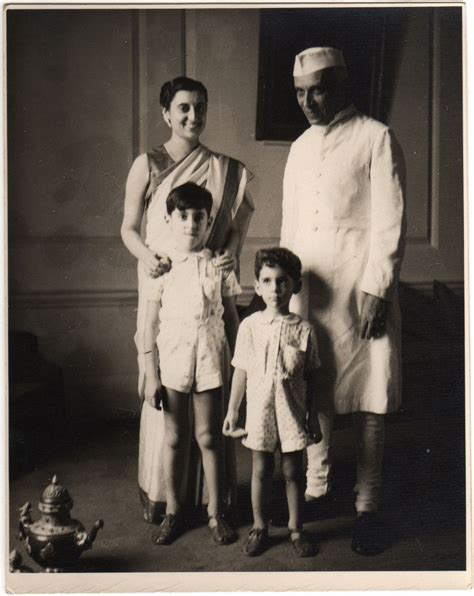 gandhi biography family jawaharlal nehru with his daughter indira and grandsons