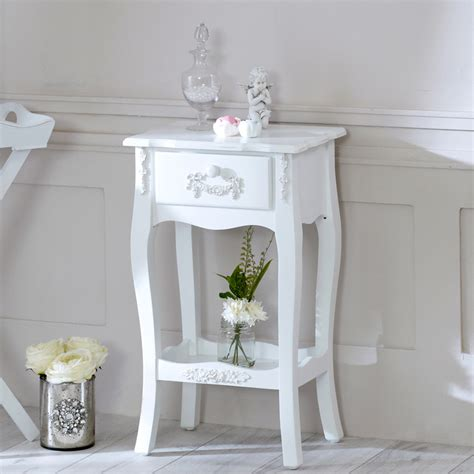 Shabby Chic Bedroom Ebay furniture bundle pair 1 drawer bedside l table shabby