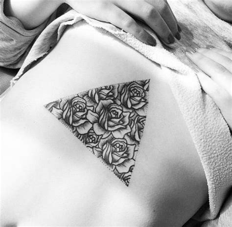 triangle tattoo on lips chest pinterest the world s catalog of ideas