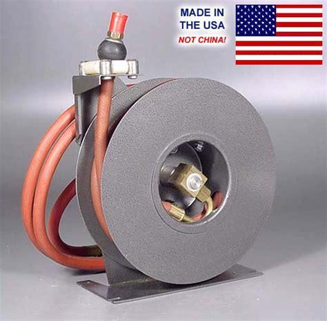 nib usa made rayart retractable air compressor hose reel 1 2 quot 50 ft ebay