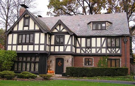 Tutor Style House by Tudor Revival