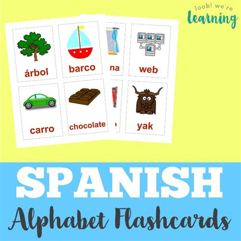 spanish alphabet flashcards printable printable spanish flashcards spanish alphabet flashcards