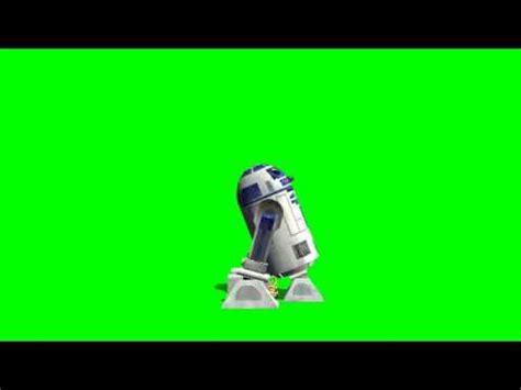 imagenes verdes en movimiento fondo verde r2d2 en movimiento con sonido youtube