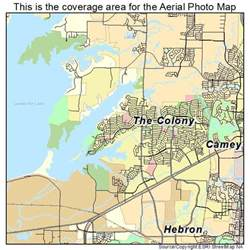 map of the colony of aerial photography map of the colony tx