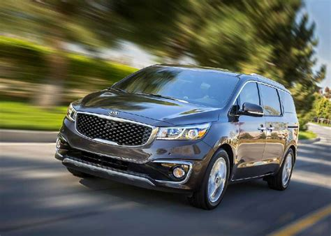2015 Kia Vehicles 2015 Kia Sedona Review Mpg