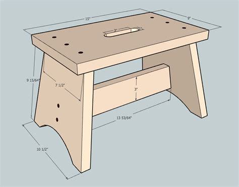 Step Stool Plans Free by Step Stool