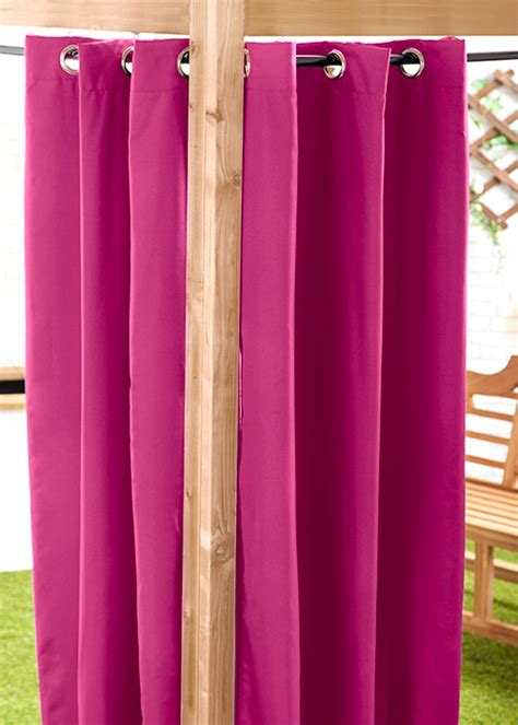gardinen für draußen dekor vorhang balkon