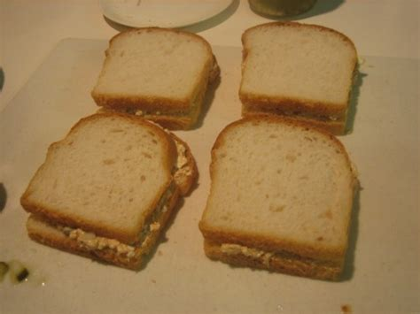 Cottage Cheese Sandwich Fillings by Cottage Cheese Pickle Peanut Sandwich The Mid Century Menu