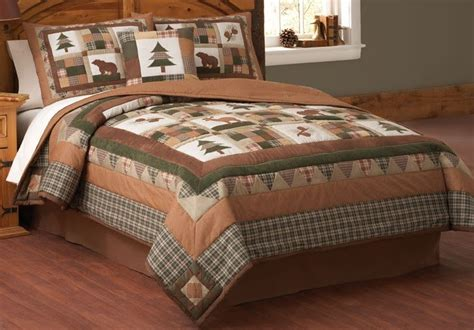 Cabin Creek Quilts by Cabin Creek Bedding With Moosehead Lodge Quilt You Are