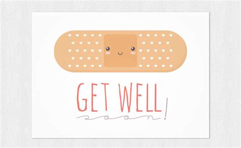 get well card template mini cards get well card instant pdf diy printable a6 plaster