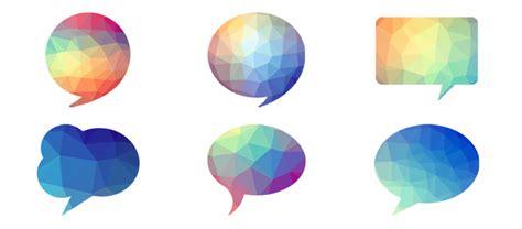 vector bubble tutorial photoshop tutorial free download vector polygon speech