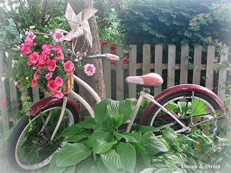 vintage bicycle   garden debbiedoos