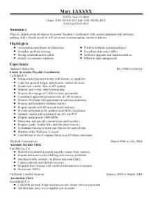 Accounts Receivable Resume Sample Pics Photos Payable Receivable Accounts Payable Resume
