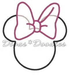 minnie mouse cut out template 6 best images of minnie mouse printable template letter