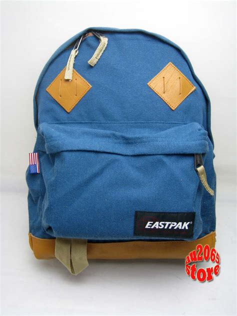 backpack made in usa eastpak padded backpack returnity bleu school bag made in