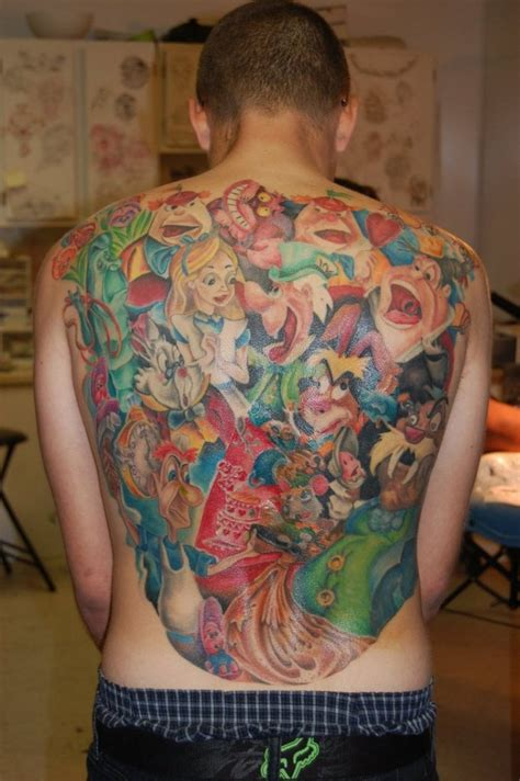 chest tattoo alice in wonderland alice in wonderland tattoos designs ideas and meaning