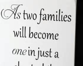 Wedding Quotes About Family Quotes About Weddings Quotesgram