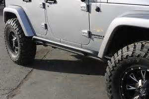 Jeep Jk Side Rails Wrangler Jk 4 Door Rock Silders Nerf Bars Side Rails Ebay