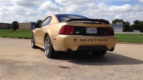 2000 ford mustang exhaust 2000 mustang gt exhaust x pipe no cats flowmaster 40