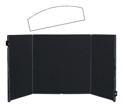 table top display boards table top display portable board folds into carrying