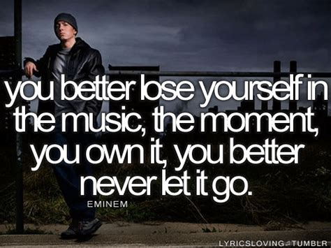 eminem lose yourself lyrics eminem quotes lose yourself quotesgram