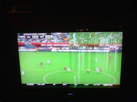 samsung ln52a550p3f thick vertical lines on right side of screen samsung ln52a550p3f thick vertical lines on right side of