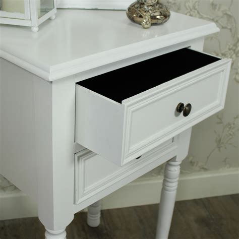 bedside table with drawers white white bedside table with two drawers bedroom furniture