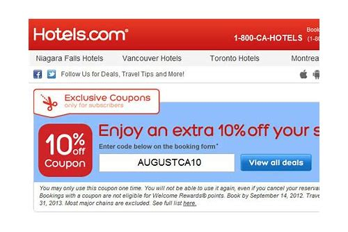 coupons for hotels in usa