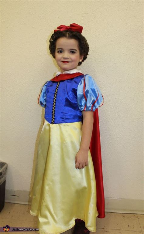 Handmade Snow White Costume - snow white