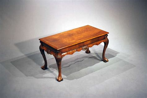 antique walnut coffee table loveday antiques