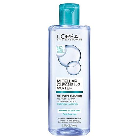 L Oréal Detox by L Oreal Micellar Cleansing Water Complete Cleanser Rank