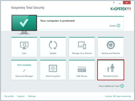 reset kaspersky to default settings how to configure parental control in kaspersky total security